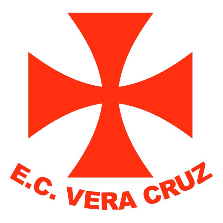 free vector Esporte clube vera cruz de piracicaba sp