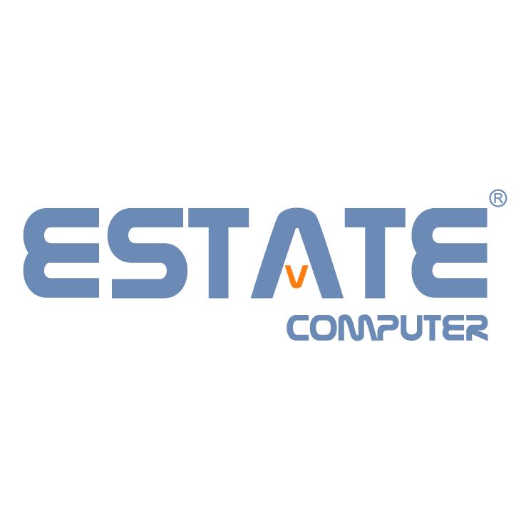 free vector Estate computer