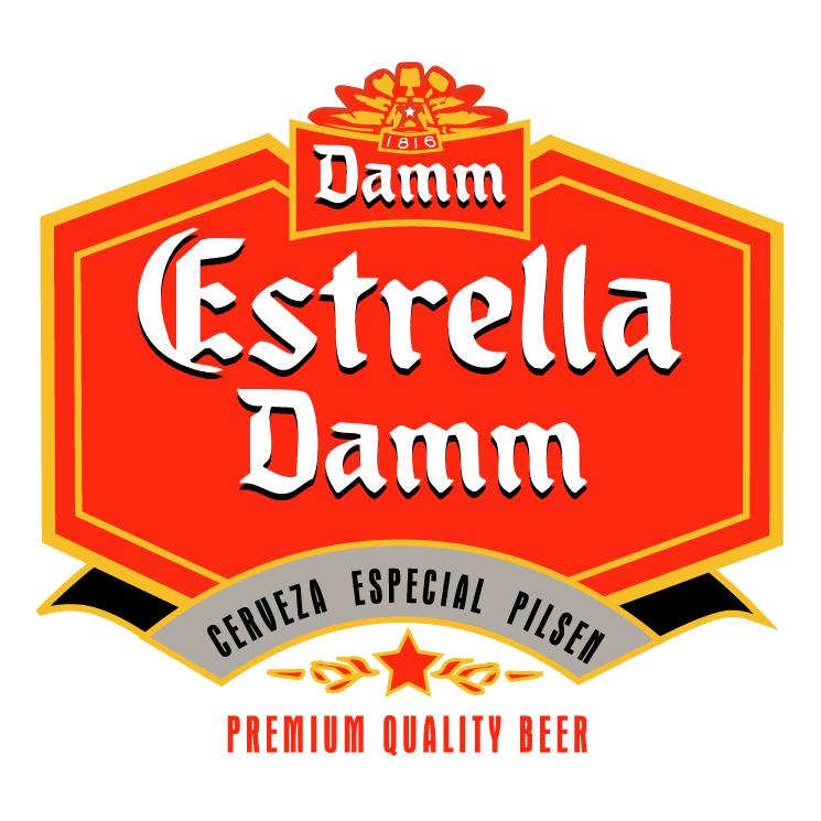free vector Estrella damm