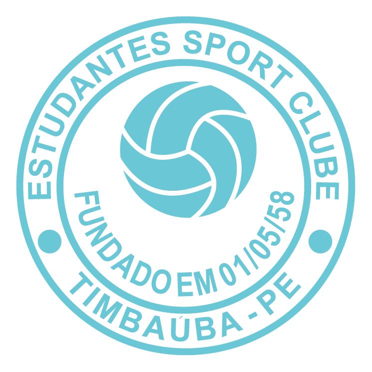 free vector Estudantes sport clube de timbauba pe