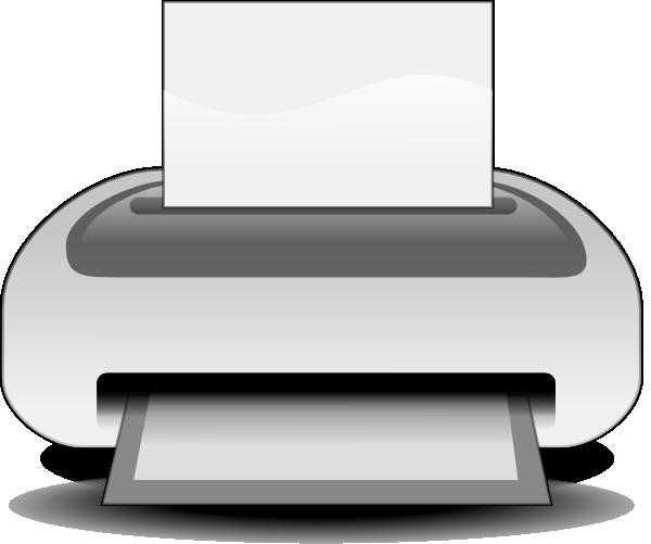 free vector Etiquette Printer clip art