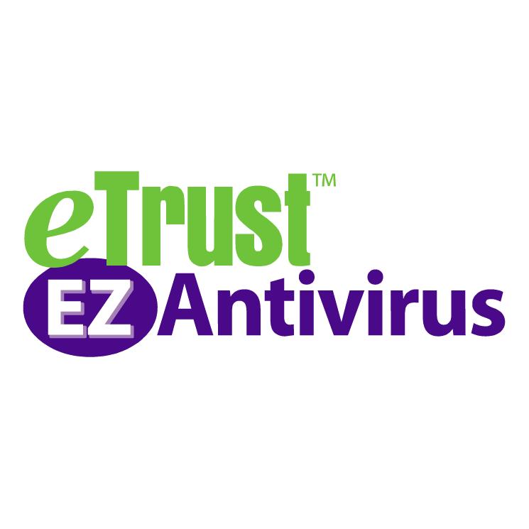 free vector Etrust ez antivirus