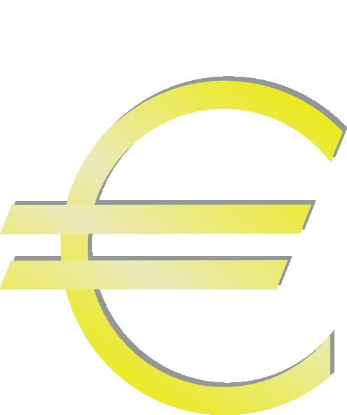 free vector Euro Financial Symbol clip art