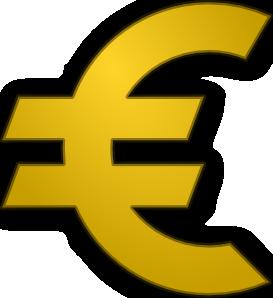 free vector Euro Sign clip art