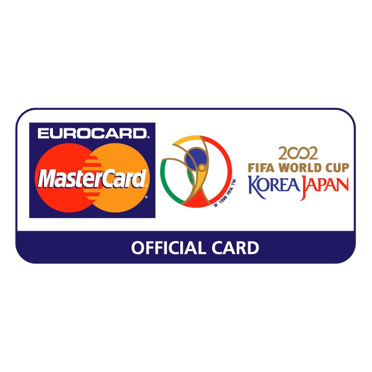 free vector Eurocard mastercard 2002 fifa world cup 0