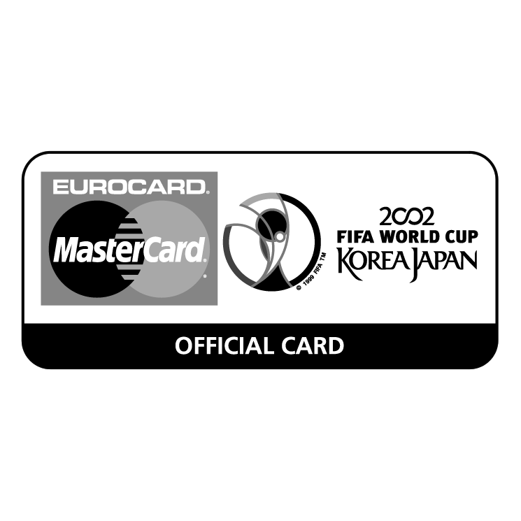 free vector Eurocard mastercard 2002 fifa world cup