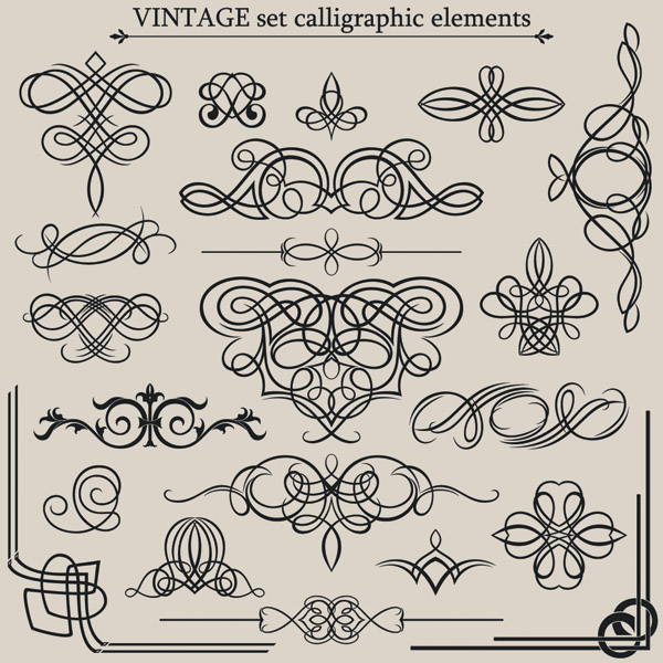 free vector European classic lace pattern vector