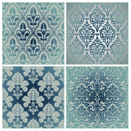 free vector European classic pattern shading 01 vector