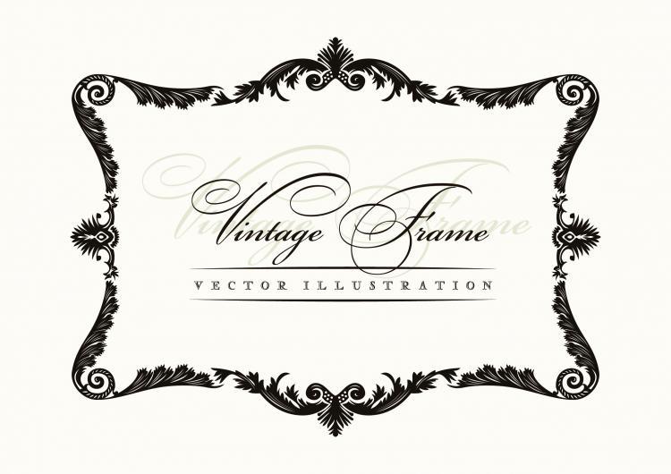 Vector border free joy studio design gallery best design for Classic border design