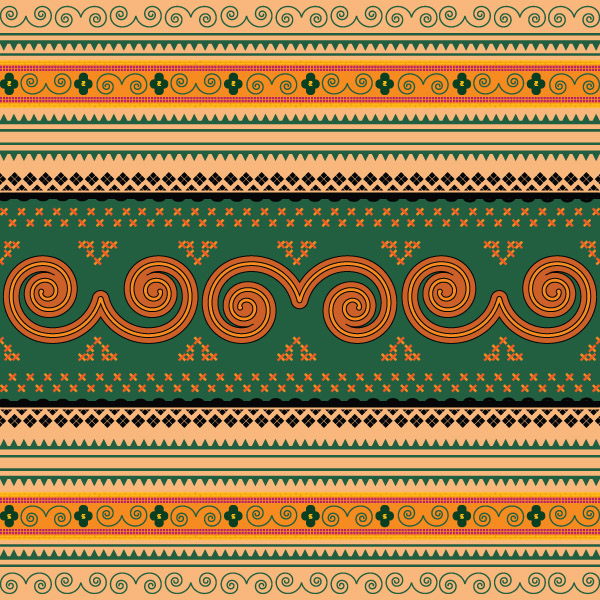 free vector European classical border vector