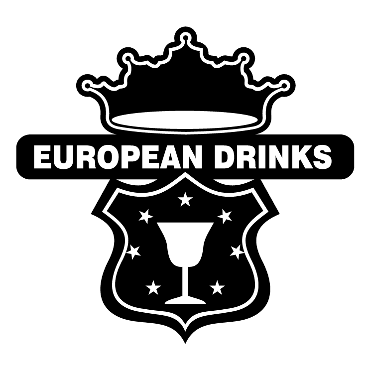 free vector European drinks