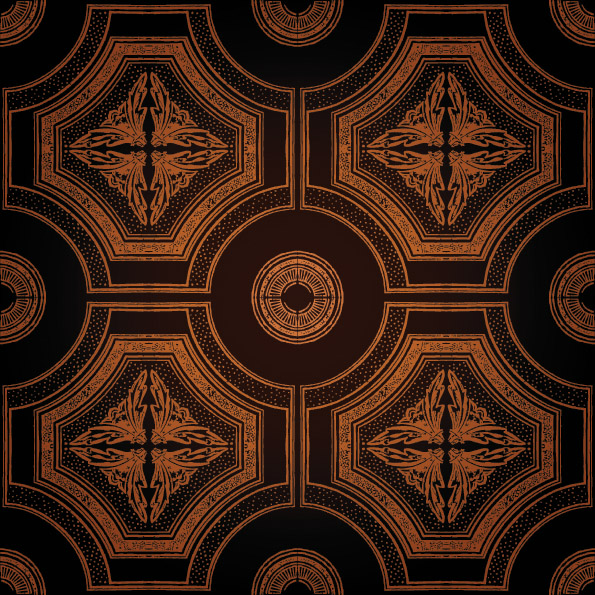 free vector European gorgeous classical pattern vector background