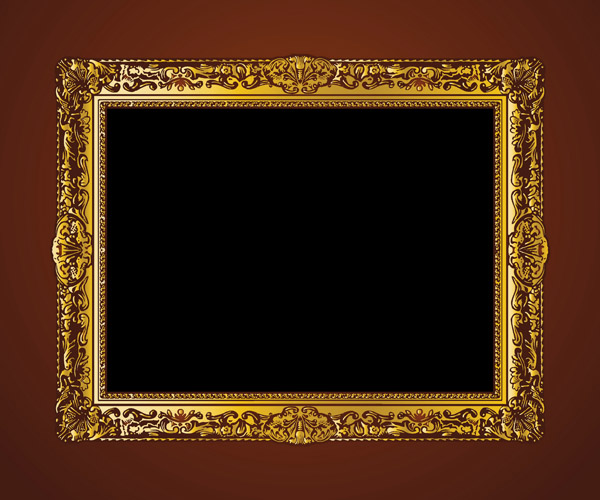 European Gorgeous Frame (5136) Free EPS Download / 4 Vector