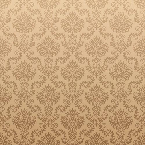 free vector European gorgeous retro pattern vector