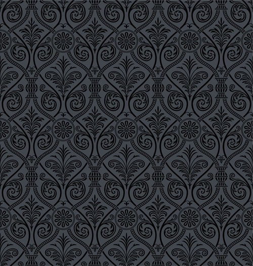 free vector European gorgeous retro pattern vector