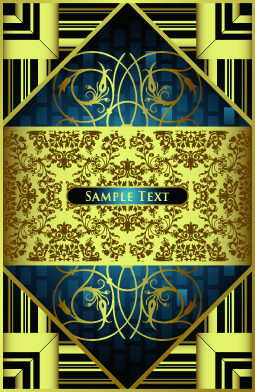 free vector European gorgeous variety of background pattern vector
