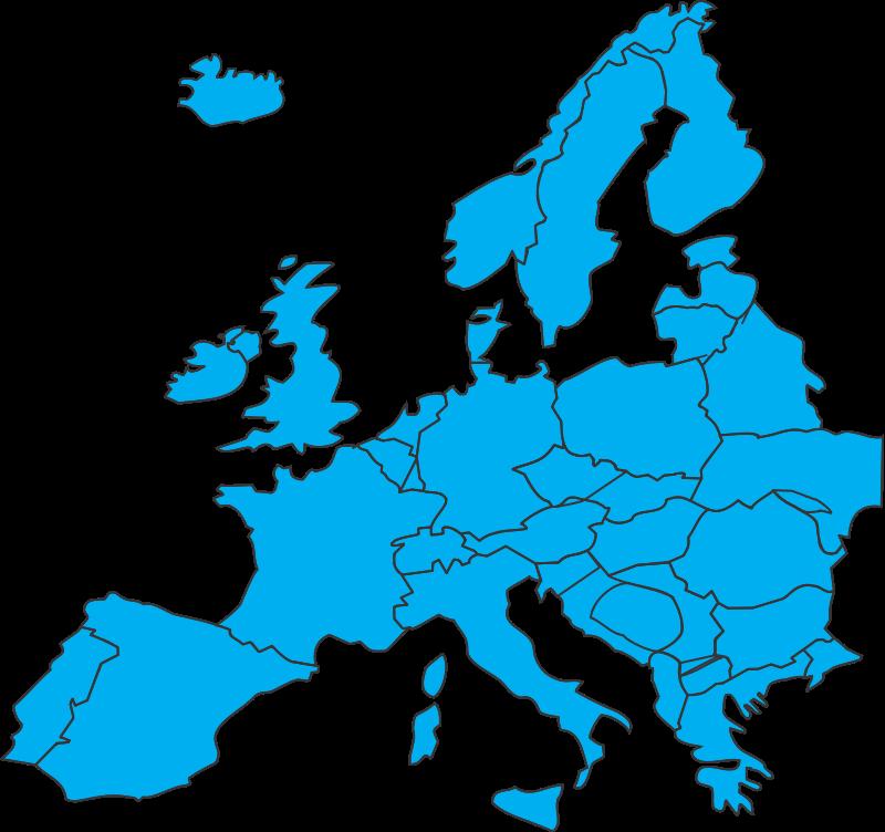 European map Free Vector 4Vector