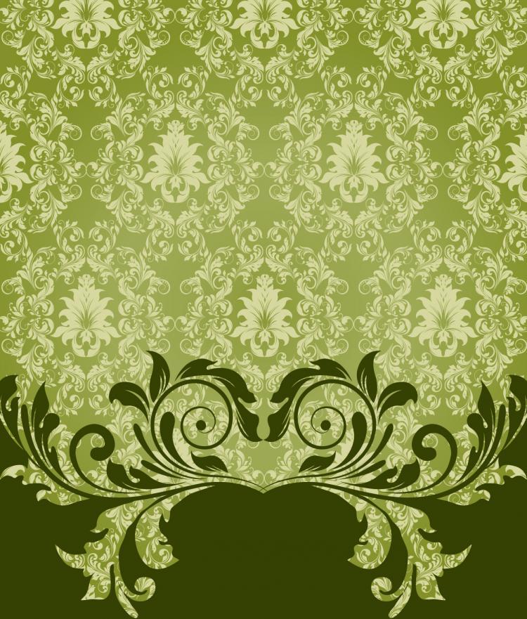free vector European pattern background 04 vector