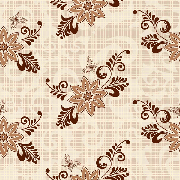 free vector European pattern background vector