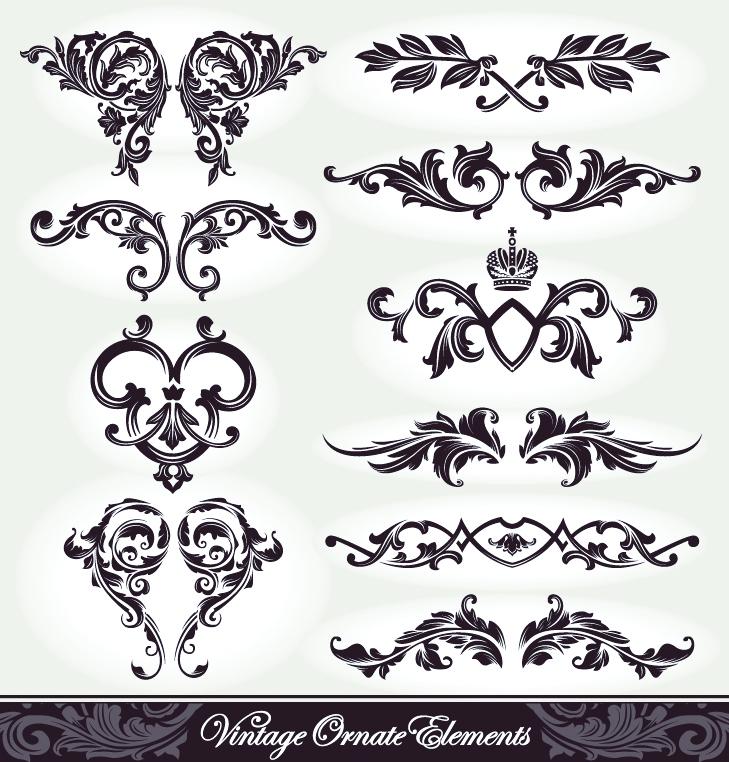 European Pattern Patterns 05 Vector 23535 on Geometric Design Patterns Chevron