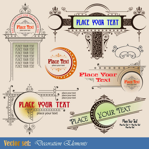 free vector European patterns graphics 01 vector