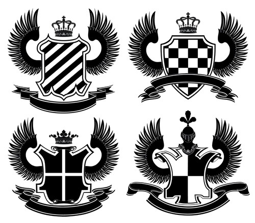 free vector European royal pattern vector