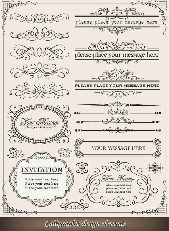 free vector Europeanstyle lace border 03 vector