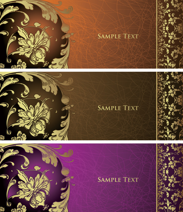 free vector Europeanstyle lace pattern vector background