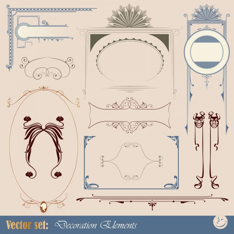 free vector Europeanstyle lace tag 03 vector