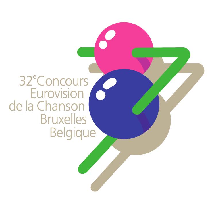 free vector Eurovision song contest 1987