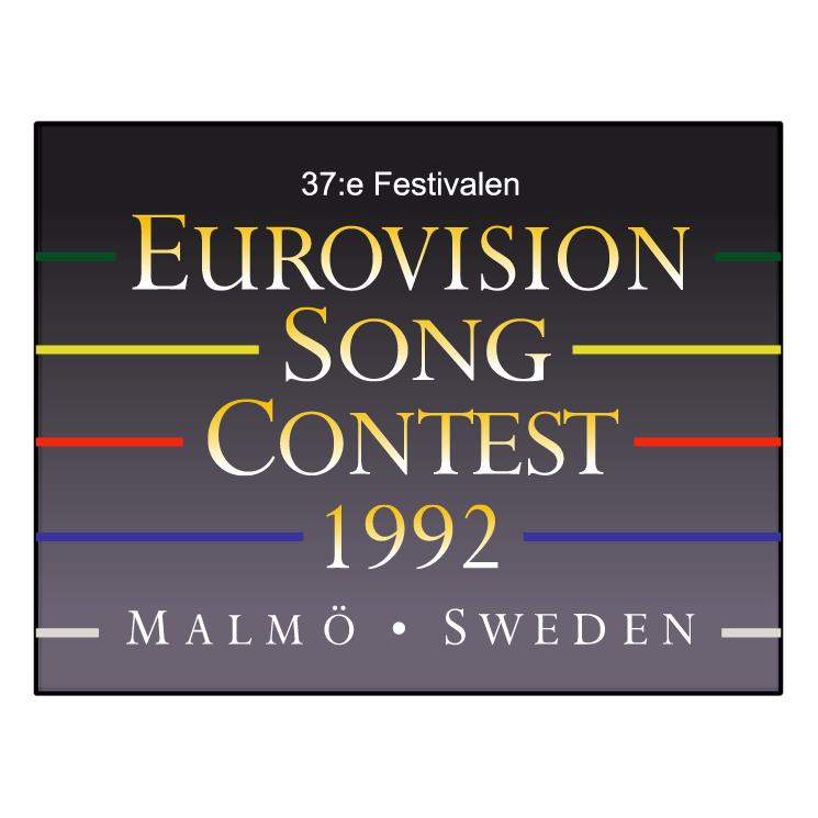 free vector Eurovision song contest 1992