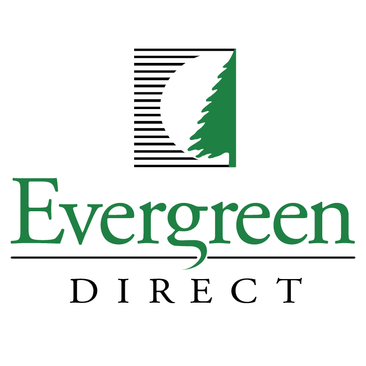 free vector Evergreen direct