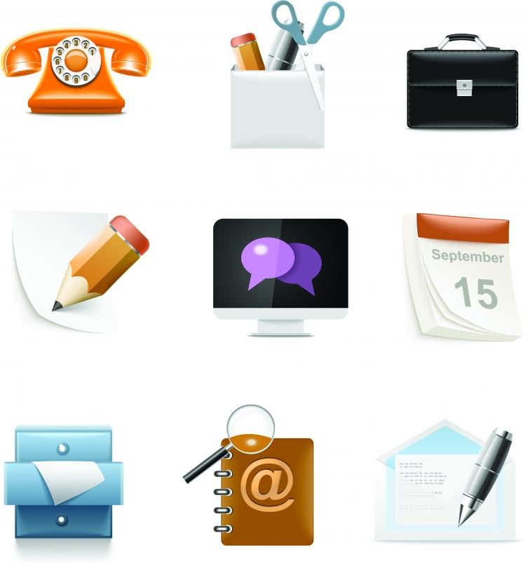 free vector Everyday common icons 04 vector