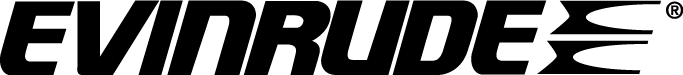 free vector Evinrude logo