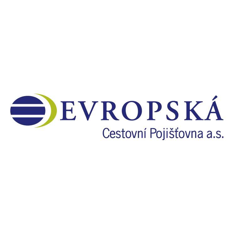free vector Evropska cestovni pojistovna