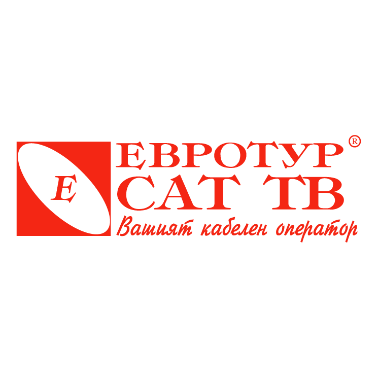 free vector Evrotur sat tv