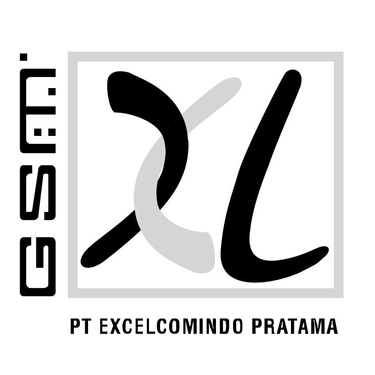 free vector Excelcomindo pratama