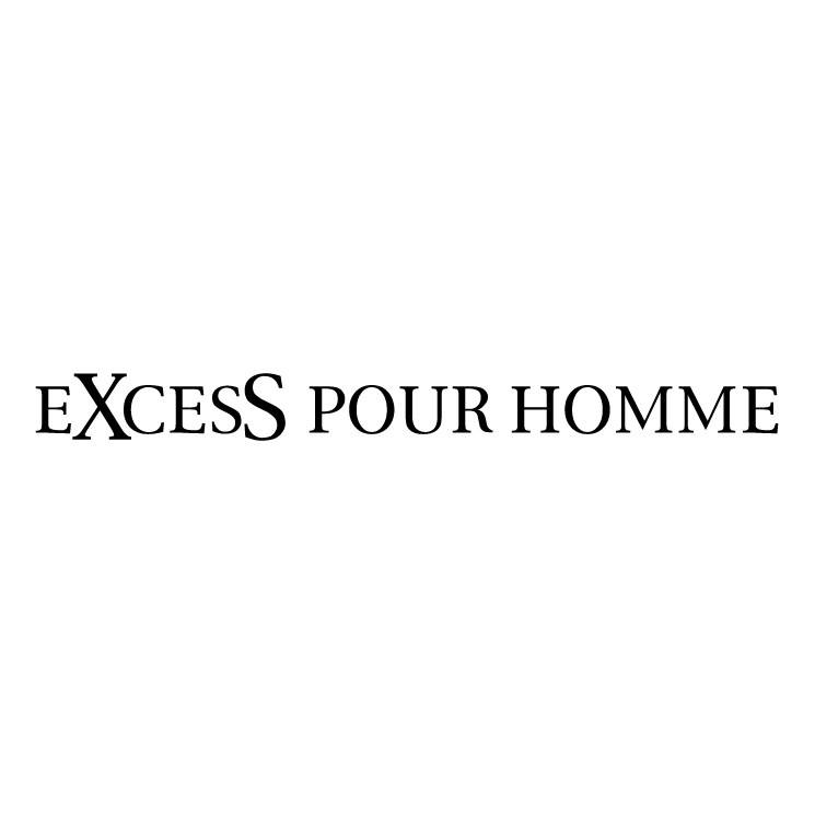 free vector Excess pour homme