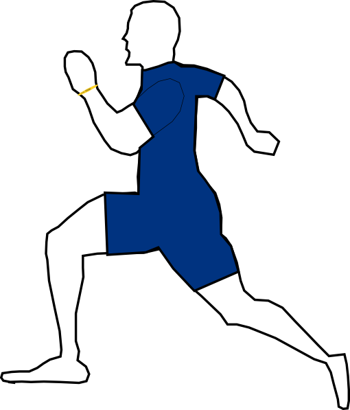 free vector Exercising clip art