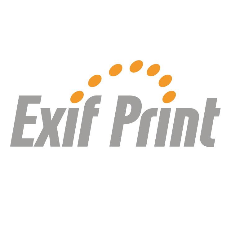 free vector Exif print