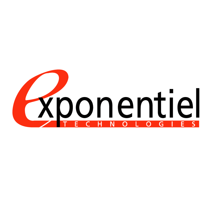 free vector Exponentiel technologies