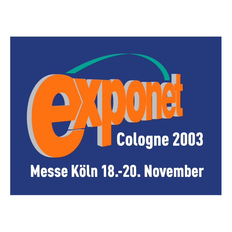 free vector Exponet cologne 2003 1