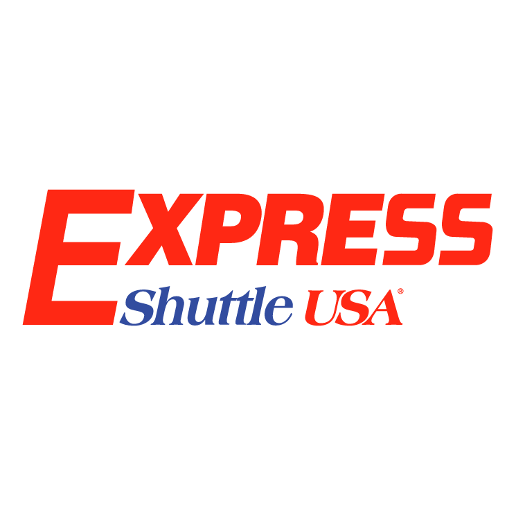 free vector Express shuttle usa