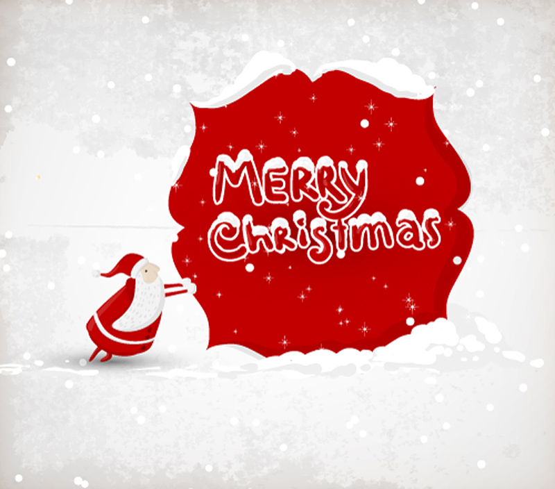free vector Exquisite christmas illustration 01 vector