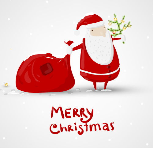 free vector Exquisite christmas illustration 05 vector