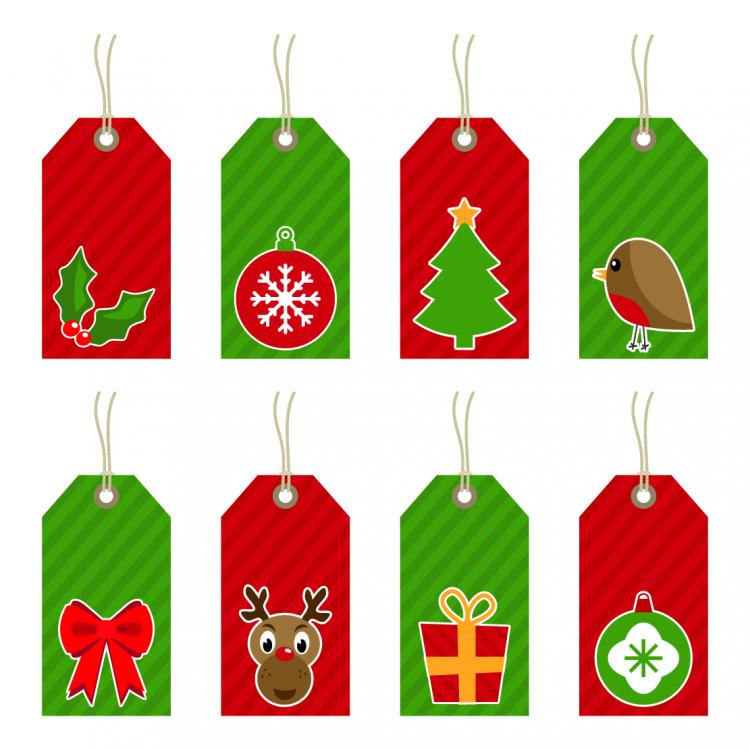 Free christmas vectors download christmas vector images and art free -  Free Vector Exquisite Christmas Labels Vector