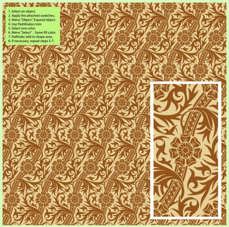 free vector Exquisite shading pattern background pattern 01 vector