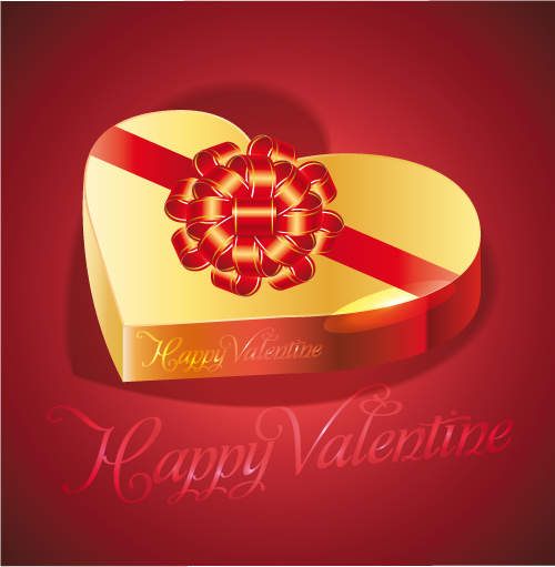 free vector Exquisite valentine background 03 vector