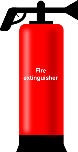 free vector Extinguisher clip art