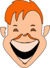 free vector Extreme Laugh clip art